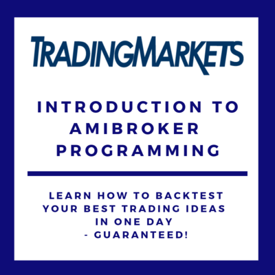 Introduction to AmiBroker Programming