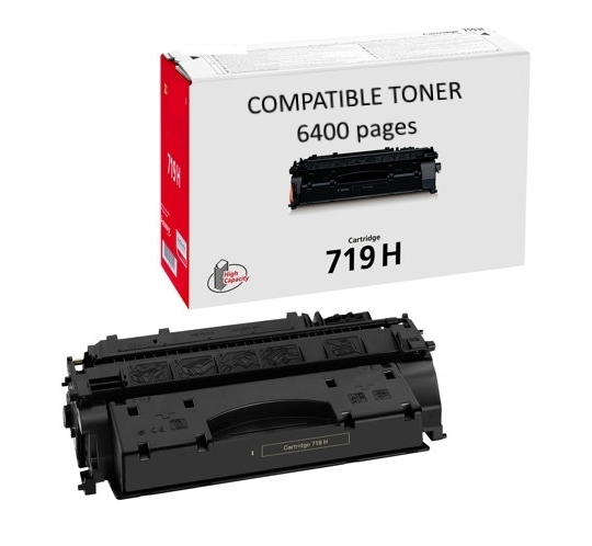 Compatible Canon 719H High Yield Toner (6400 pages)