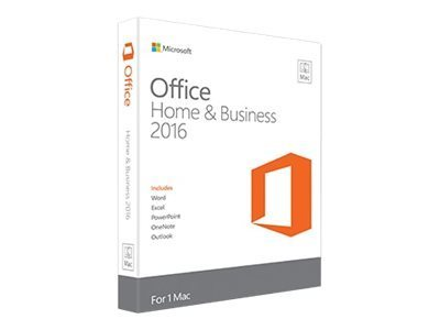Microsoft Office Mac Home Business 2016 - 1 License Pack - Electronic Software Download (ESD)