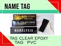 Name TAG Epoxy/PVC