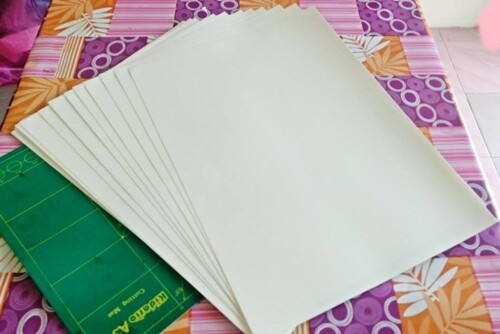 Transparent Sticker dan White PP - Laser Printer