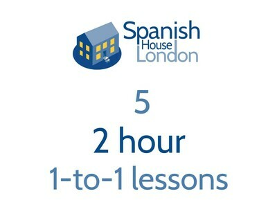 Five 2 hour 1-to-1 lessons