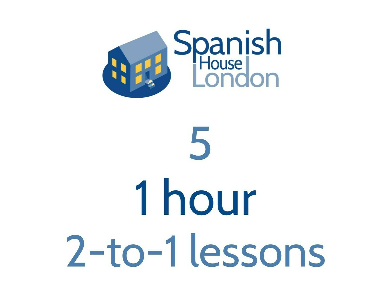 Five 1-hour 2-to-1 lessons