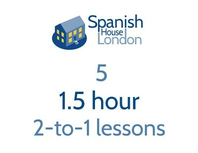 Five 1.5-hour 2-to-1 lessons