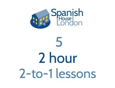 Five 2-hour 2-to-1 lessons
