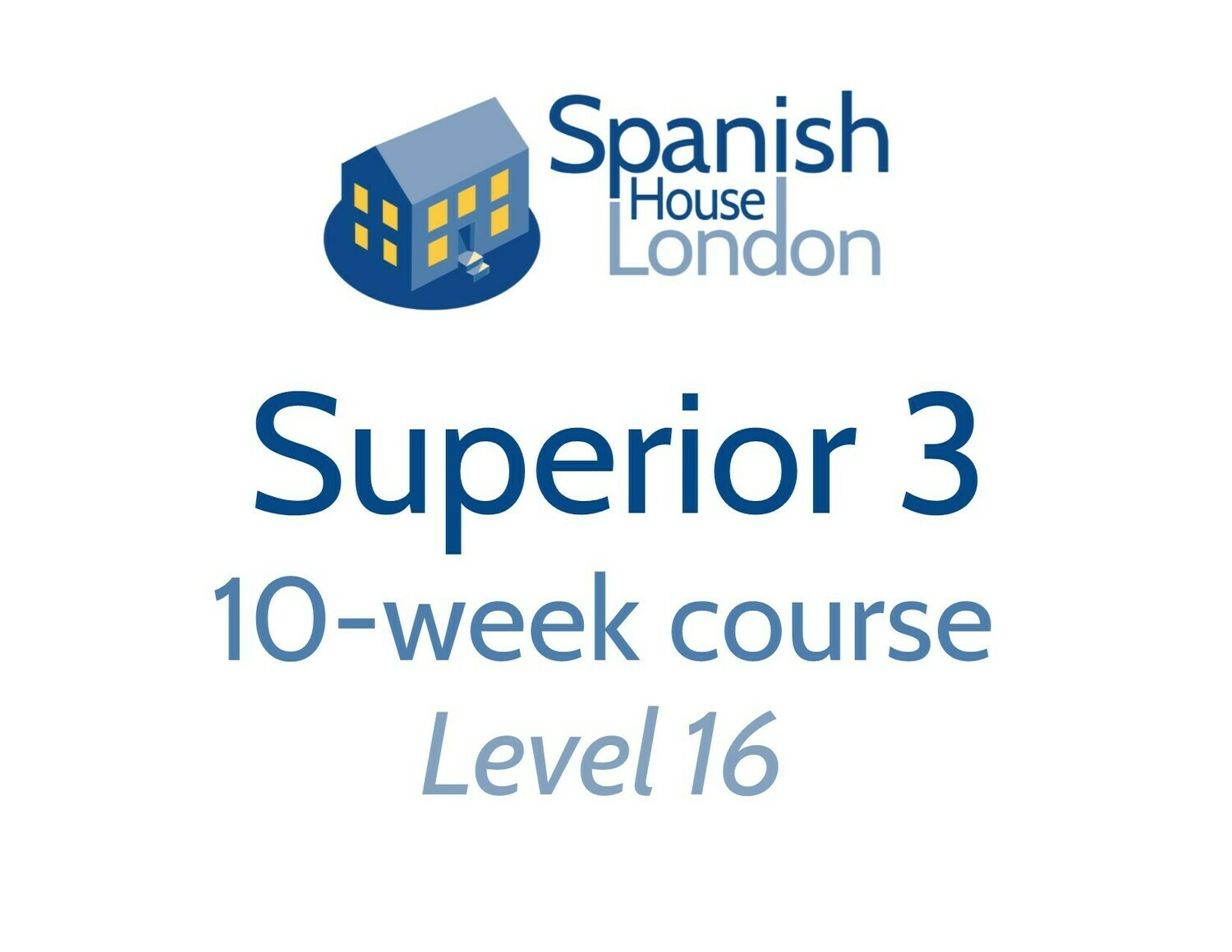 Superior 3 Course starting on 27th October at 7.30pm