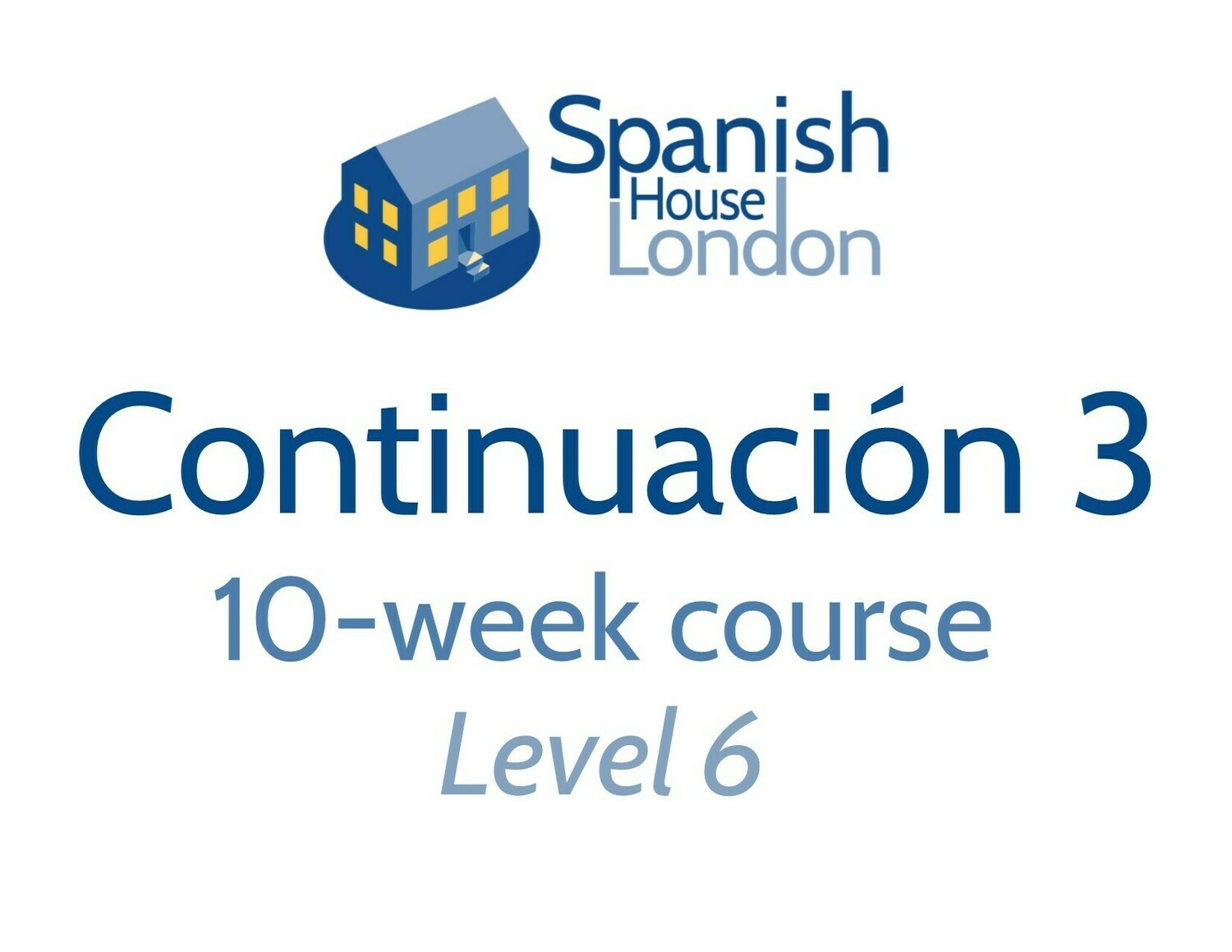 Continuacion 3 Course starting on 1st September at 6pm