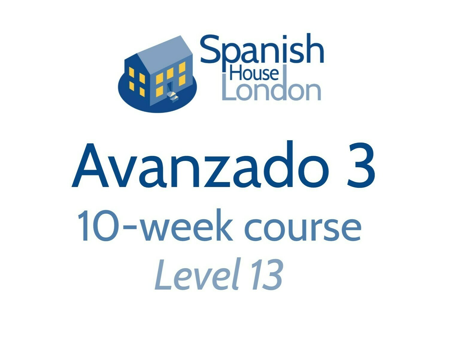 Avanzado 3 Course starting on 1st September at 6pm in Clapham North