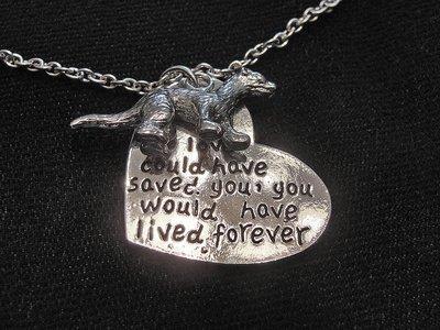 Pewter Ferret Memorial Necklaces - 3 Variations