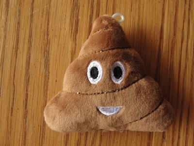 Emoji Poop Plush Toy for Ferrets
