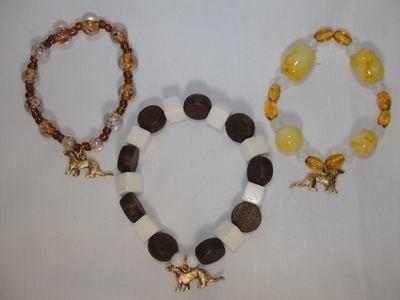 Ferret Charm Jewelry Bracelets