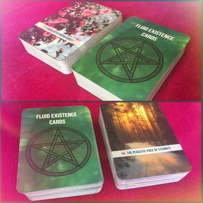 Fluid Existence Cards