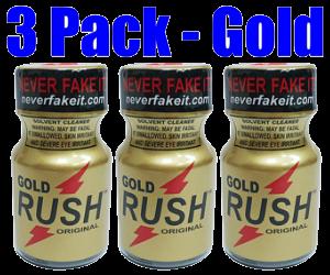 Gold Rush 3-Pack (10ml)