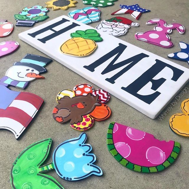 HOME Sign interchangeable