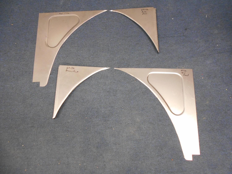 1967-72 Inner Fender Filler Panels (Slosh Tubz)