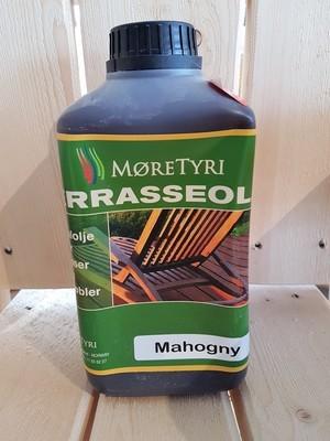 Terrasseolje 1 liter Mahogny