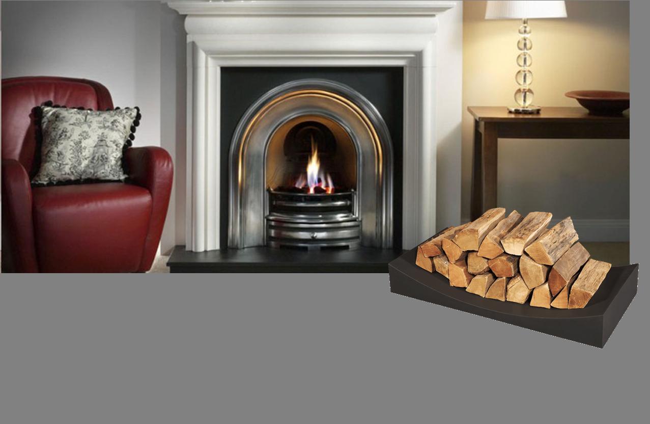 Premium 39 Cubrir 39 Log Storage Rack Firewood Holder L900mm Fireplace Accessories Ebay