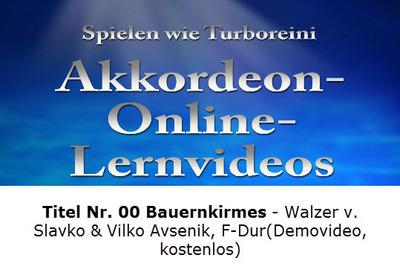 Akkordeon-Lernvideo Demo (kostenlos)
