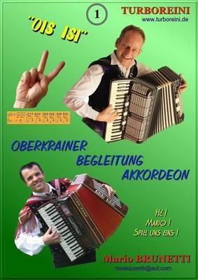 Oberkrainer-Begleitung Akkordeon-Noten kostenlos, Ausgabe 1 (Polka)