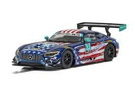 SCALEXTRIC MERCEDES-AMG GT3 STARS AND STRIPES
