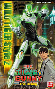 WILD TIGER STYLE 2 TIGER AND BUNNY THE RISING