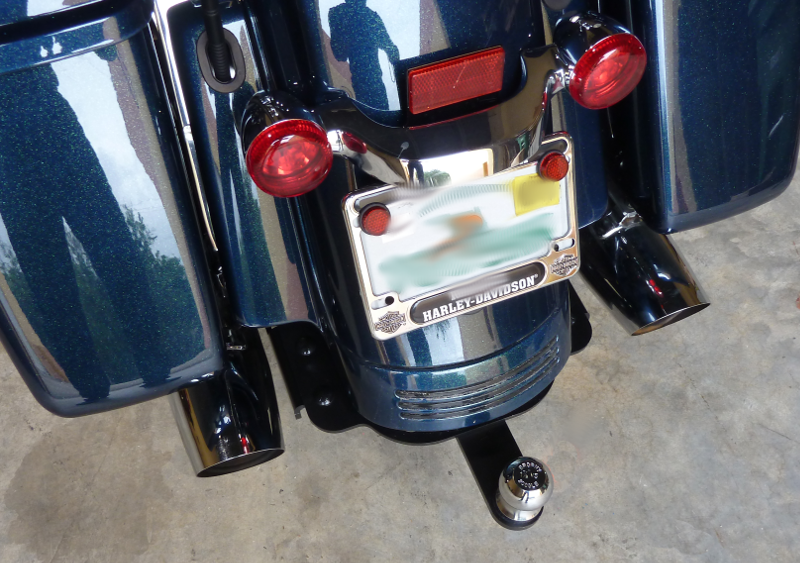 Harley Street/Road Glide Extended Fender Hitch 2014 - Present
