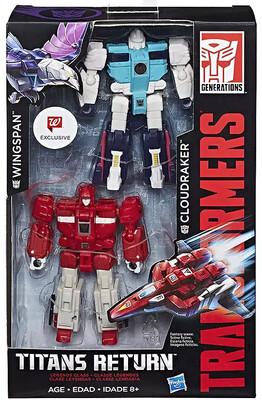 Transformers - Titans Return - Wingspan & Cloudraker 2-Pack (Walgreens Exclusive)
