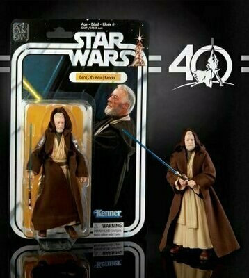 Star Wars - 40th Anniversary 6-Inch Figure - Episode 4 Ben Obi Wan Kenobi