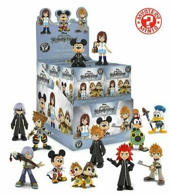 Funko - Mystery Minis Mini Vinyl Figure Blind Box - Disney Kingdom Hearts (1 Randomly Picked)