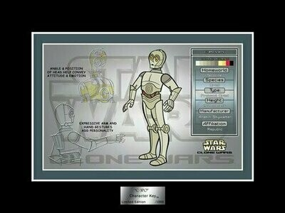 Star Wars - Character Key - 2007 - Limited Edition 1000 - C-3PO (Star Wars Shop)