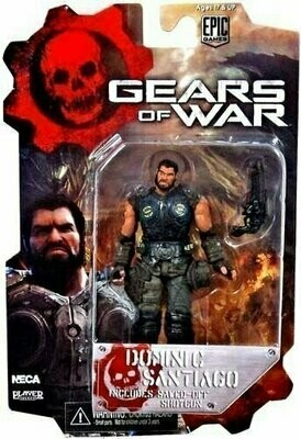 Gears Of War - 3 3/4 Action Figure - Dominic Santiago