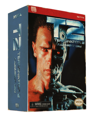Terminator 2 – 7″ Action Figure – T-800 (Classic Video Game Appearance)