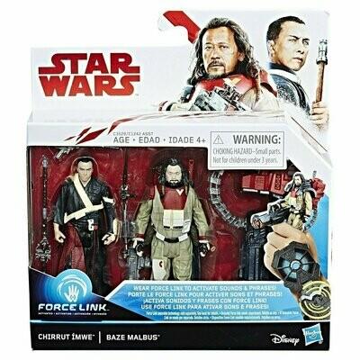 Star Wars - The Last Jedi - Chirrut Imwe & Baze Malbus (2-Packs)