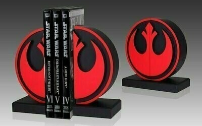 Star Wars Gentle Giant - Imperial and Rebel Bookend Logo Statue