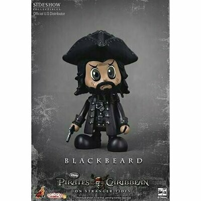 Hot Toys Cosbaby - Pirates Of Caribbean On Stranger Tides - Blackbeard