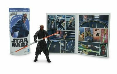 Star Wars - Galaxy Of Adventures W3 - Darth Maul with Mini Comic