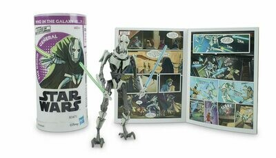 Star Wars - Galaxy Of Adventures W3 - General Grievous with Mini Comic