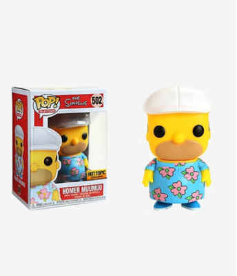 Pop ! Television 502 - The Simpsons - Homer Muumuu