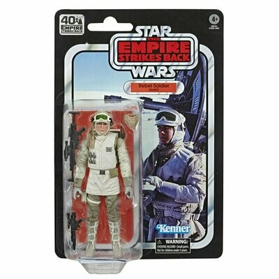 PREORDER 2020-09 Star Wars - 40th Anniversary 6-Inch Figure - Rebel Soldier (Hoth)