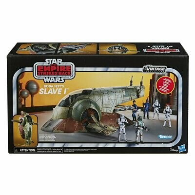 PREORDER 2020-06 Star Wars - Vintage Collection - Boba Fett's Slave I 3 3/4-Inch Scale Vehicle - Exclusive