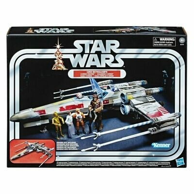 PREORDER 2020-06 Star Wars - Vintage Collection - Luke Skywalker Red 5 X-Wing Fighter 3 3/4-Inch Scale Vehicle - Exclusive