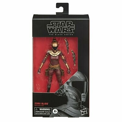 PREORDER 2020-06 Star Wars - The Black Series 6'' #103 - Zorii Bliss