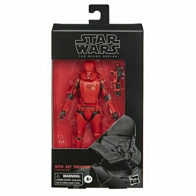 PREORDER 2020-06 Star Wars - The Black Series 6'' #106 - Sith Jet Trooper