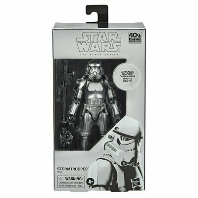 PREORDER 2020-10 Star Wars - The Black Series 6'' - Carbonized Stormtrooper