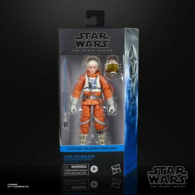 PREORDER 2020-08 Star Wars - The Black Series 6-Inch - Luke Skywalker (Snowspeeder)