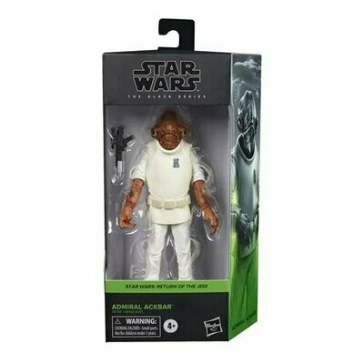 PREORDER 2020-08 Star Wars - The Black Series 6-Inch - Admiral Ackbar