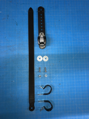 Universal Ratcheting Footstrap