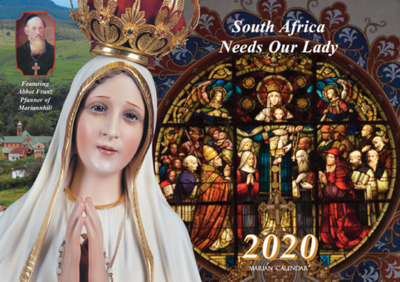 2020 Marian Calendar for 50 copies