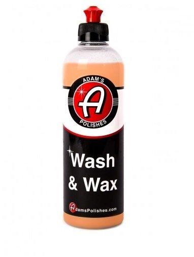 АВТОШАМПУНЬ С ВОСКОМ,473мл. / Adam's Wash & Wax 16oz