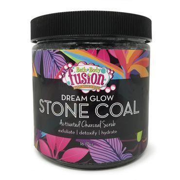 Dream Glow Stone Coal Scrub-Bath and Body Fusion